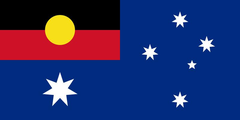 Aboriginal/Australian flag